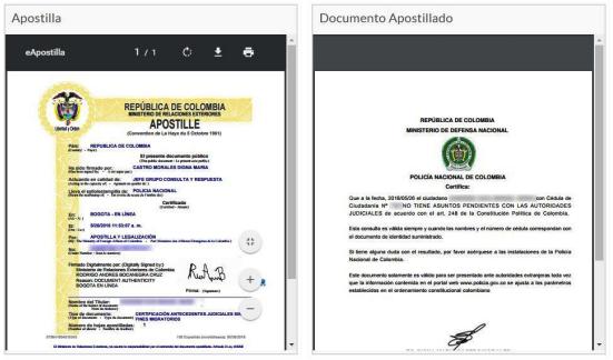 apostilla